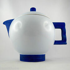 Porcelaine Théière ROBJ PARIS France Art Deco 1930/french china teapot/années 30