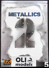 Metallics Vol.2 Learning Series Book - AK Interactive 508