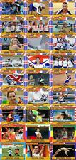 British Gold Medals - Beijing 2008 Olympic Games plus headliners Trading Cards