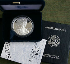2000 AMERICAN SILVER EAGLE PROOF DOLLAR US Mint ASE Coin with Box & COA