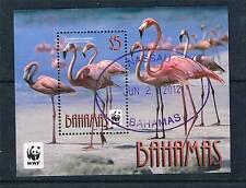 Bahamas 2012 WWF Flamingos 1v MS CTO
