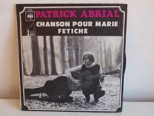 PATRICK ABRIAL Chanson pour Marie 4533
