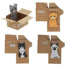 Novelty Cartoon Cat House Pad Bookmark Memo Reminder Paste Sticky Note Tip Paper