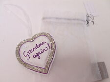 Grandma Again! New Baby Grandmother Small Love Heart Keepsake Present Gift #6F6