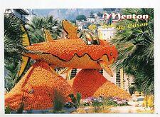 Carte postale Hergé. Menton Fête du Citron. Le Requin. Etat neuf