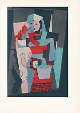 """1955 Vintage """"ITALIAN WOMAN"""" by PABLO PICASSO Full Color Plate offset Lithograph"""