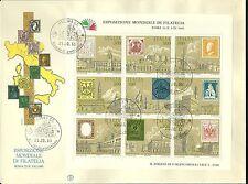 ITALIA BUSTONE 1985 FILAGRANO FDC ESP. FILATELIA ANNULLO PADOVA ANTICHI STATI
