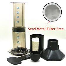 Espresso Portable Coffee Maker Aeropress Coffee Press Maker With Metal Filter