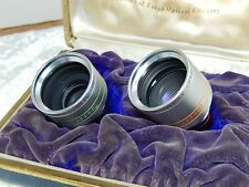 Topcor Lens for Brownie Movie camera set of two Wide angle with box