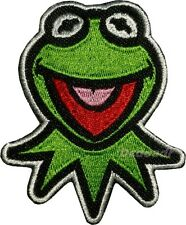 Kermit the Frog Face Embroidered Patch Miss Piggy Animal Gonzo Fozzie Bear