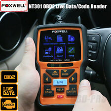 Foxwell NT301 CAN OBDII/EOBD Code Reader Live Data/Car DTC Auto Diagnostic Tool