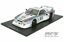LANCIA BETA MONTE CARLO TEAM MARTINI RACING 24h Le Mans 1981 1:18 SPARK 18s160