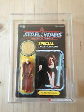 STAR Wars AFA 95 POTF 1985 Ben Obi Wan Kenobi Nuovo di zecca MOC ESB Rotj Nuovo di zecca