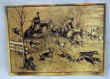 Vintage R.H. Palenske My Trophy Gold Foil Etch Print