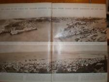 Panoramic Photos Dunkirk France Haifa Israel 1946