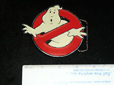 GHOST BUSTERS BELT BUCKLE GLOWS IN THE DARK COOL!!