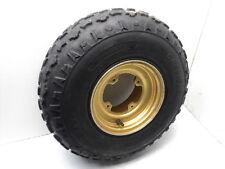 #4020 Suzuki Quad Runner LT250 LT 250 Aluminum Front Wheel & Tire (B)