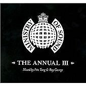 Ministry of sound the annual 3 ltd EDT leather cover