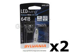 Porsche (89-13) License Light LED Bulb (12V - 1W) 6000K color temp. SYLVANIA LED