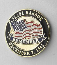 PEARL HARBOR DECEMBER 7 1941 USA HAWAII MEMORIAL LAPEL PIN BADGE 1 INCH
