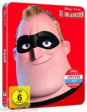 DIE UNGLAUBLICHEN, The Incredibles (Walt Disney) Blu-ray Disc, Steelbook NEU+OVP