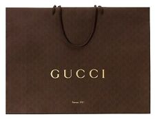 Gucci Gift Paper Shopping Bags 5 Pack - Size: 9 x 6 5/8 x 2 3/4 (inches)