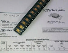 1 Stück Mini Circuits KSWA-2-46 Switch 50Ω SPDT Absorptive DC to 4.6 GHz (M1495)