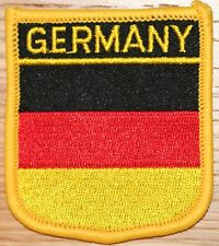 GERMANY German Shield Country Flag Embroidered PATCH Badge P1