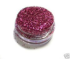 Barbie Hot Pink Sparkle Eye Shadow Glitter Sparkling Dust Body Face Nail MakUp