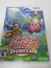 WII Kirby's Return to Dream Land - NEW SEALED U Official North American Version