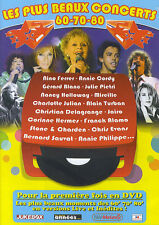 Les plus beaux concerts 60-70-80 : Nino Ferrer, Annie Cordy, Jairo, ... (DVD)