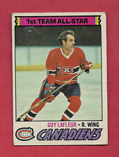1977-78 TOPPS # 200 CANADIENS GUY LAFLEUR ALL STAR  CARD