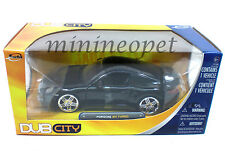 JADA 91851 PORSCHE 911 997 TURBO 1/24 DIECST MODEL CAR BLACK