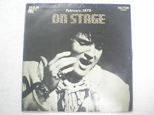 ELVIS PRESLEY ON STAGE FEBRUARY 1970 RARE LP record vinyl INDIA INDIAN 96 VG+