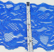 .New 2 Yard 8.5cm cotton wide elastic lace trimming BH25
