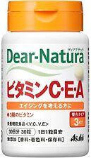 Asahi Dear Natura Vitamin C E A Youthful Anti-Aging Health Beauty Japan New