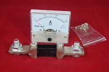 DC 300A Analog Ammeter Panel AMP Current Meter 85C1 0-300A DC with Shunt