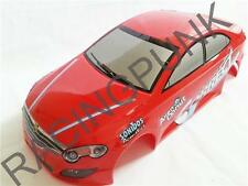 RC 1/10 EP Car 190mm Painted Bodyshell body fit TT01 TL01 Mercedes 550 style RED