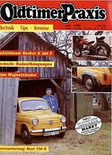 Oldtimer Praxis 4 90 1990 Trabant Sachsenring P 240 Seat 770 S Hecker K 250 Z UT