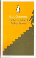 THE INCREDULITY OF FATHER BROWN G K Chesterton New 2013 paperback TV 'tec priest