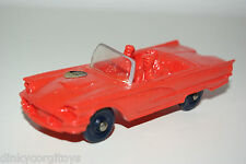 TOMTE LAERDAL 16 FORD THUNDERBIRD RED PAINTED MINT RARE SELTEN RARO