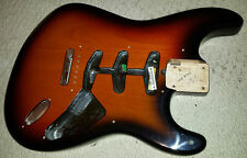Fender Stevie Ray Vaughan USA SIgnature Stratocaster Body SRV Strat Sunburst #1