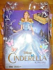 "Disney Cinderella Royal Ball Doll 12"" Barbie New 2015 Live Action Movie"