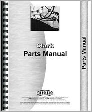 New Industrial/Construction Parts Manual For Clark CA-1