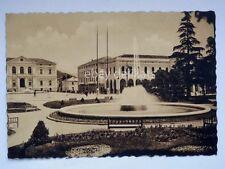 VITTORIO VENETO Giardini pubblici vecchia cartolina