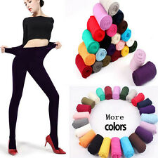 Black Velvet Sexy Multicolor 120D Thick Opaque Pantyhose Tights Stockings