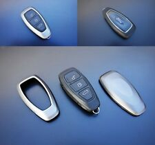 Ford Car Remote Key Cover Case Skin Shell Cap Fob Protection ABS Gray Grey 07-