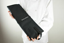 KNIFE BAG ROLL FOLDER BLACK HEAVY DUTY CANVAS HOLDS 15 ITEMS BY DOLOMITEN INOX