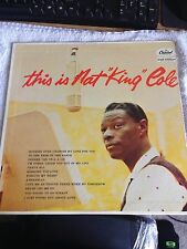 "This is Nat ""King"" Cole 12"" Vinyl Record - 1958 (T870)"