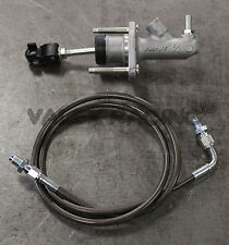 8th Gen Civic EM1 Clutch Master Cylinder Upgrade CMC Gunmetal SS Clutch Line